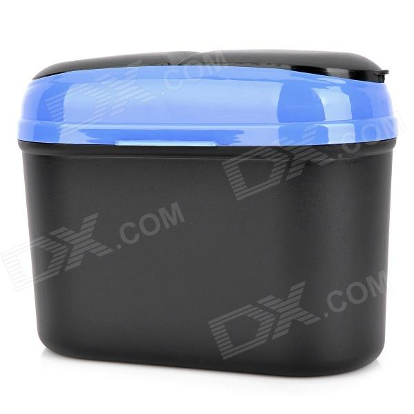 все цены на CQS-004 Car Plastic Trash Can Bin- Black + Blue (2.5L) онлайн