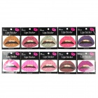 Sexy Pattern Rubber Tattoo Lips Sticker (10 PCS)