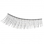 Nylon + Artificial Fiber Natural Straight Eyelashes Set - Black (10 Pairs)