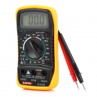 "Excellent XL830L 1.8"" LCD Digital Multimeter - Black + Orange (1 x 9V Battery)"