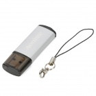 Aoni A602 Stylish USB 2.0 Flash Drive - Silver (8GB)