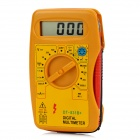 "DT-831B+ 1.9"" LCD Digital Multimeter - Orange + Black"