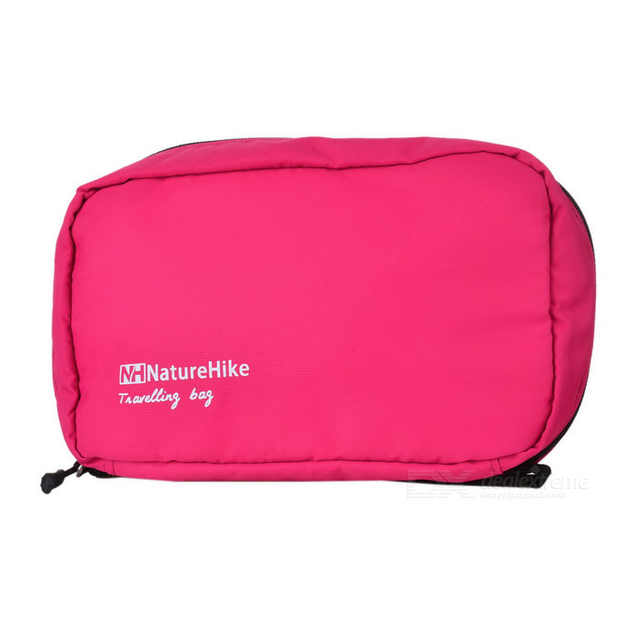 NatureHike Travel Camping Leisure Makeup Wash Bag - Deep Pink