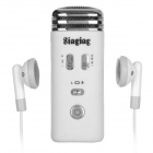 Singing Mini Karaoke Condenser Microphone for iPhone 5 + More - White