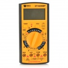 "BEST DT-9205M+ 2.6"" LCD Digital Multimeter - Black + Reddish Orange"