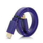 Gold-Plated V1.4 HDMI Male to Male Connection Cable - Purple (50cm)