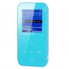 "ONN Q2 Ultra-Slim Sporting 1.5"" Screen MP4 Player w/ FM - Blue (4GB)"