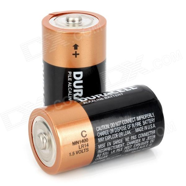 duracell 1 5v c type mn1400 lr14 alkaline battery black. Black Bedroom Furniture Sets. Home Design Ideas