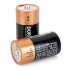 DURACELL 1.5V C-Type MN1400 LR14 Alkaline Battery - Black (2 PCS)