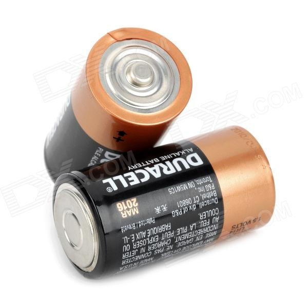 DURACELL 1.5V D-Type MN1300 LR20 Alkaline Battery - Black + Golden (2 ...