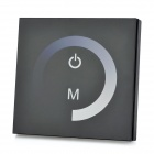 TP006 Touch Panel Single Color LED Dimmer Controller - Black + White (DC 12~24V)