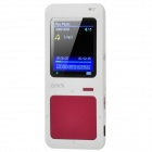 "ONN Q7 Sport 1.8"" Screen MP3 / MP4 Player w/ FM / TF - Maroon + White (4GB)"