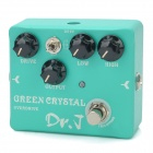 JOYO D50 Aluminum Alloy Overdrive Pedal Effect for Guitar / Bass - Aqua Green