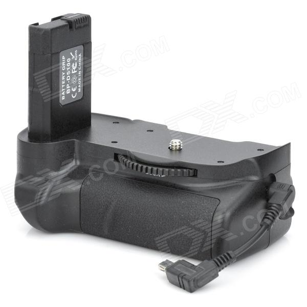 BP-D5100 Battery Grip for Nikon D5100 - Black bp 208 compatible 850mah battery pack for canon mvx1sidc10 dc20 more