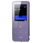 "ONN Q9 Ultra-Slim 1.8"" Screen MP3 Player w/ TF / FM - Purple (4GB)"