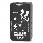 JOYO JP01 Multi Power Supply Adapter for 10 Guitar Effect Pedals - Black