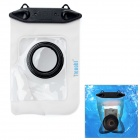 Tteoobl T-009C Waterproof Protective Bag for Canon / Panasonic / Nikon Camera - Black + White