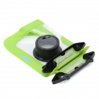 Tteoobl T-009C Waterproof Protective Bag for Canon / Panasonic / Nikon Camera - Black + Green