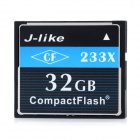J-like CF233X-32G CompactFlash / CF Card - Black + White (32GB)