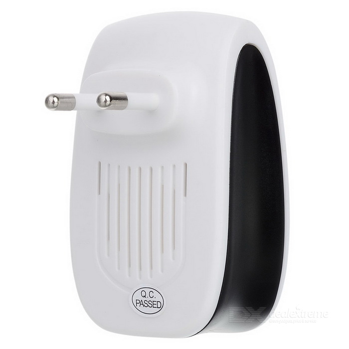 ZS-633 Electronic Pest Repeller -White (AC 90~220V / EU Plug)