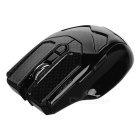 LingDu L535 2.4GHz 1600dpi 5D Button Wireless Optical Computer Games Mouse - Black (2 x AAA)
