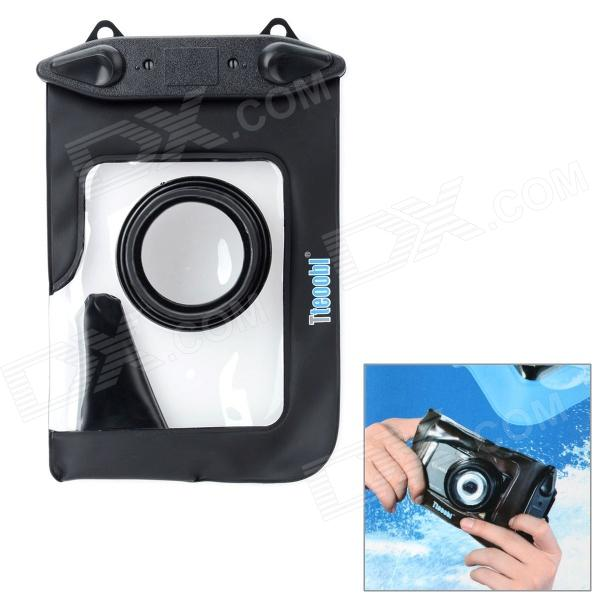 Tteoobl T-009C Waterproof Protective Bag for Canon / Panasonic / Nikon Camera - Black