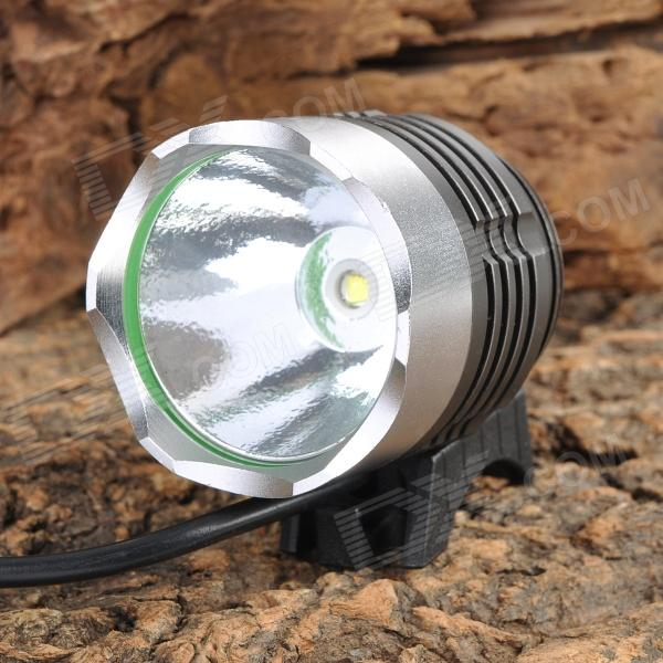 SingFire SF-90 4-Mode 1000lm White Bicycle Headlamp - Silver + Grey (4 x 18650) цена