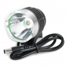 SingFire SF-90 Cree XM-L T6 4-Mode 1000lm White Bicycle Headlamp - Silver + Grey (4 x 18650)
