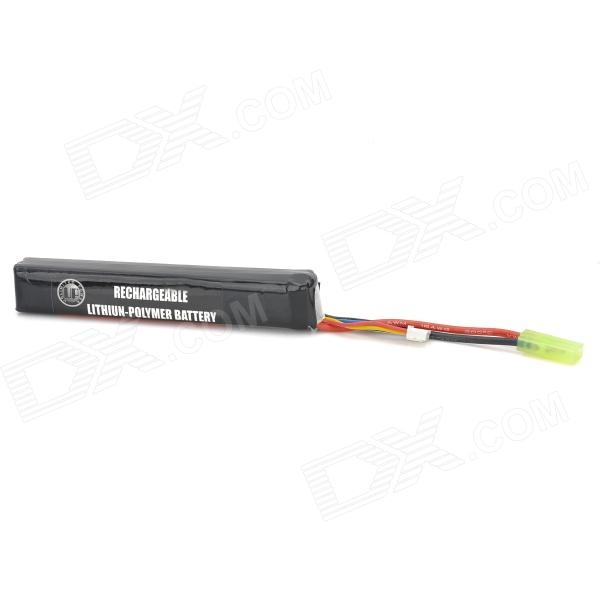 6020120 Replacement 20C 1500mAh Polymer Lithium Battery Pack - Black