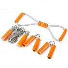 Panon PN-5145 4-in-1 Foam Latex Fitness Exercise Equipment Set - Orange + Grey