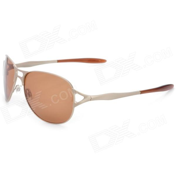 Polarized Glare-Guard Resin Lens UV400 Protection Sunglasses for Drivers / Pilots - Light-Golden дополнительная фара gofl glare of light gl lwl 10wr 3310