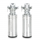 DIY Universal Air Core Aluminum Alloy Motorcycle Back Pedals - Silver (2 PCS)
