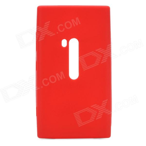 Protective Silicone Back Case for Nokia Lumia 920 - Red