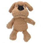 Cute Dog Style Soft Short Plush Toy - Dark Khaki