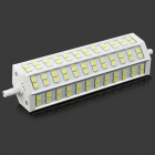 R7S 15W 1350lm 6500K 72-SMD 5050 LED White Light Lamp - Grey + White (AC 85~265V)
