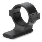 30mm Aluminum Alloy Tactical Gun Single Rail Mount for M16 - Black