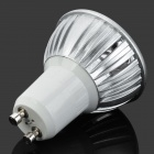 GU10 6W 3500K 300lm 3-bombilla LED Warm White Light - Plata (AC 85 ~ 265V)