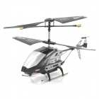 SanHuan SH-6030 Rechargeable 3,5-CH IR Remote Control R / C Helicopter w / Kamera / Gyro / TF - Schwarz