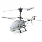 SanHuan SH-6026i 3.5-CH iPhone / iPad / iPod Remote Control R/C Helicopter w/ Gyro - Silver + White