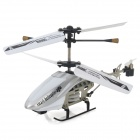 SanHuan SH-6025i 3,5-CH iPhone / iPad / iPod Remote Control R / C Helicopter w / Gyro - Silver