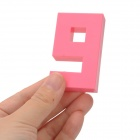 430 DIY Plastic Number Shape Educational Toy - Multicolored