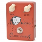 JOYO JF-05 True Bypass Design Classic Chorus Effect Guitar Pedal - Orange