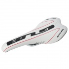 GUB Bicycle Bike Seat Saddle - White + Black