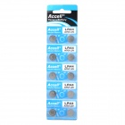 Accell LR44 / A76 1.5V Alkaline Cell Button Battery (10 PCS)