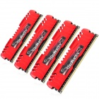 G.SKILL F3-17000CL11Q-16GBZL RipjawsZ DDR3 2133 16G(4 x 4GB) RAM Memory for Desktop PC - Red (4 PCS)