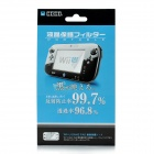 Protective Glossy PET Screen Protector for Nintendo Wii U - Transparent Green