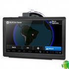 "IPUM7025AV 7"" Resistive Screen Android 4.0 GPS Navigator w/ Europe Map / AV-In - Black"