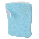 Reversible Cleansing Sponge for Face Washing - Blue + White