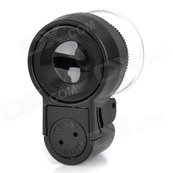 MG13102 Mini 45X Microscope w/ 2-LED Illumination + Currency Detector Light - Black (3 x LR1130)  цены