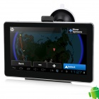 "IPUM6026AV 7"" Resistive Screen Android 4.0 GPS Navigator w/ Russian Map / AV-In - Black + Silver"